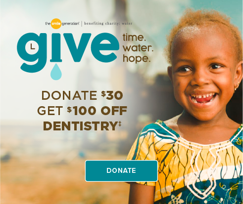 Donate $30, Get $100 Off Dentistry - Dentists of Bakersfield